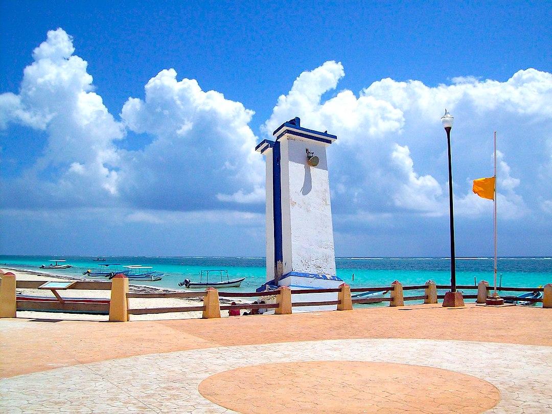 Puerto Morelos.