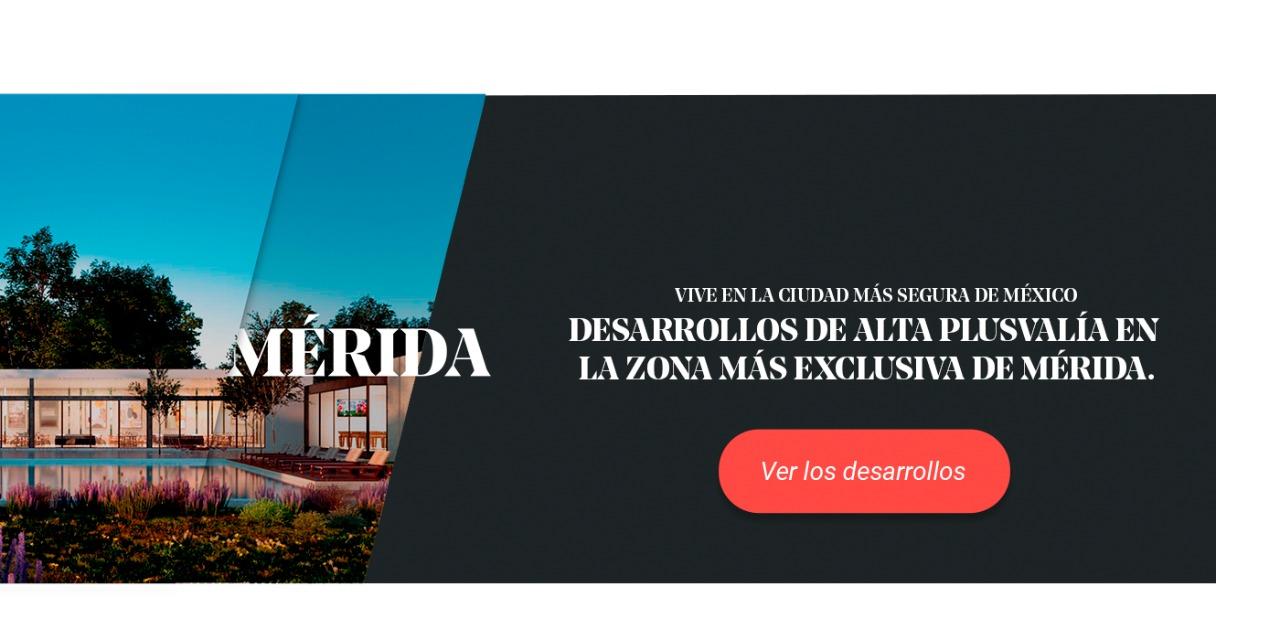 Banner de los desarrollos de Anah en Mérida.