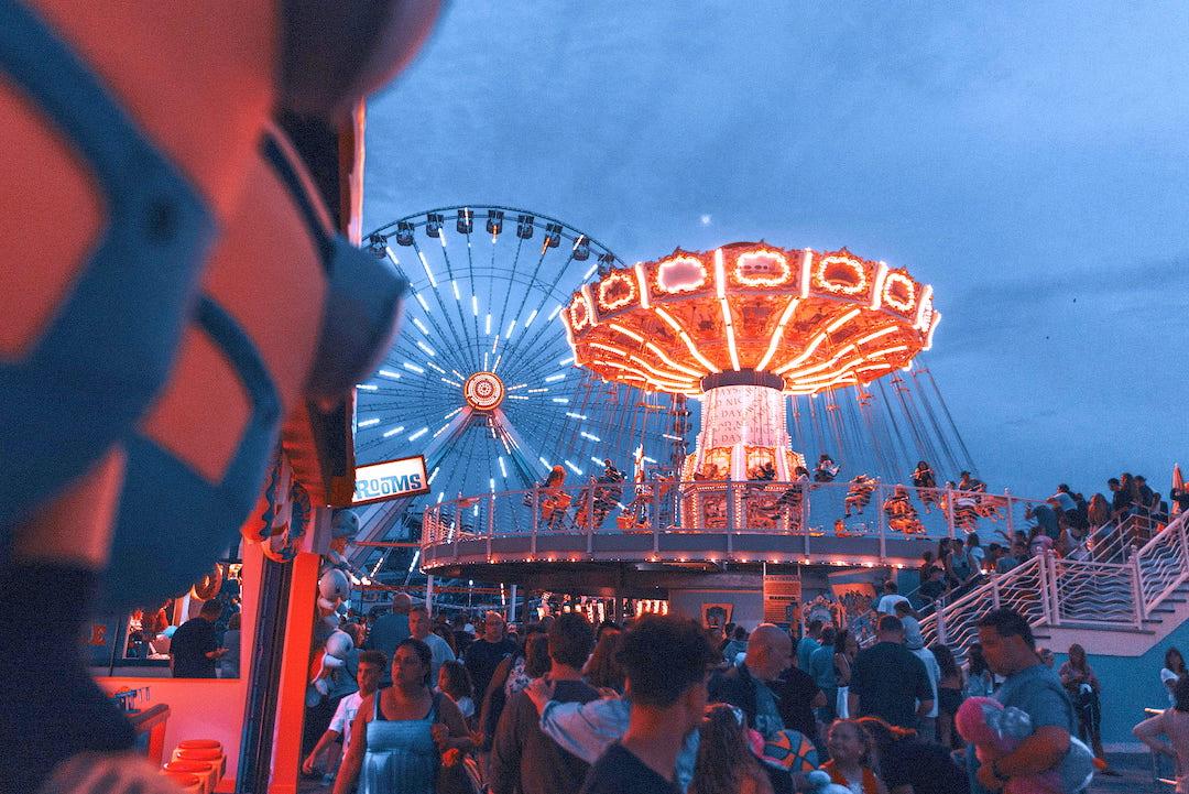 Feria de San Marcos en Aguascalientes.