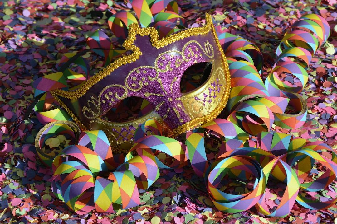 Máscara de carnaval de veracruz