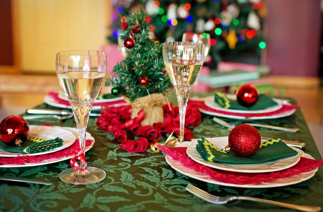 tradicional cena de navidad