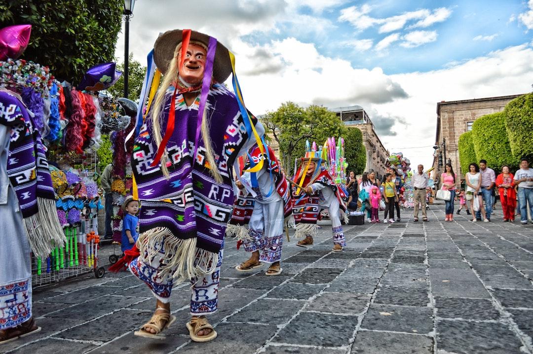 Danza de los Parachicos en Chiapa de Corzo