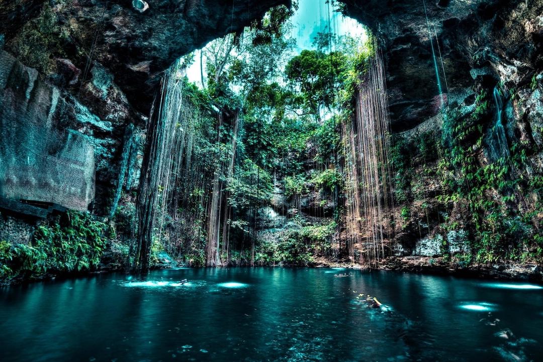Cenote en Yucatán