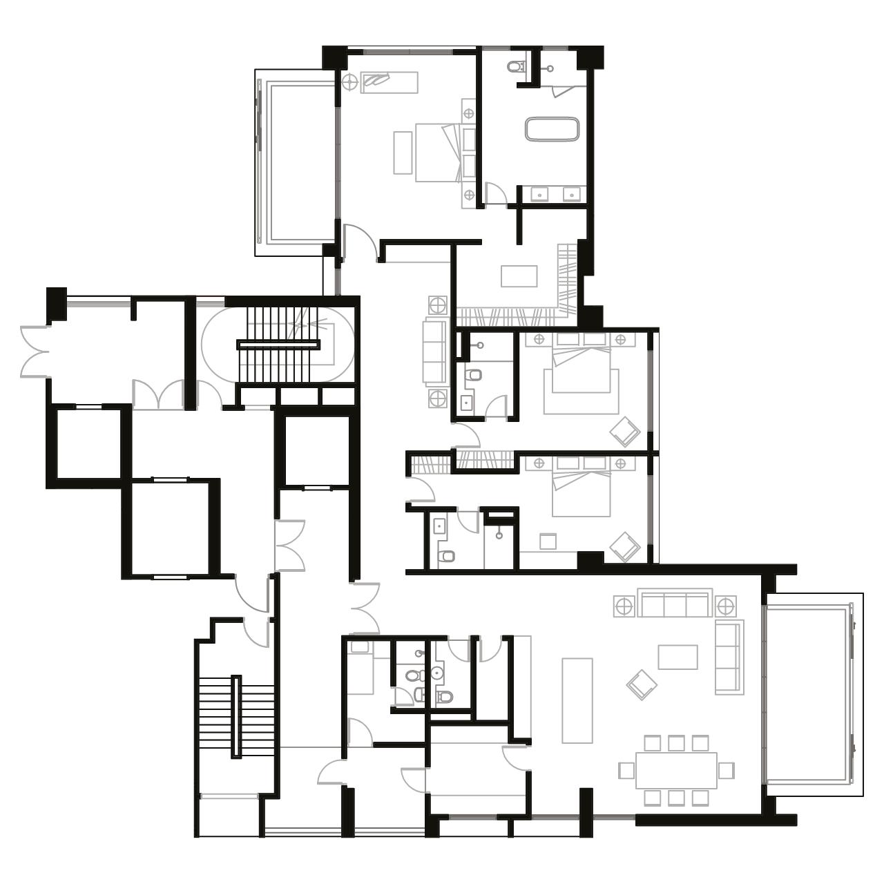 Ampang Condominium Floor Plan A1