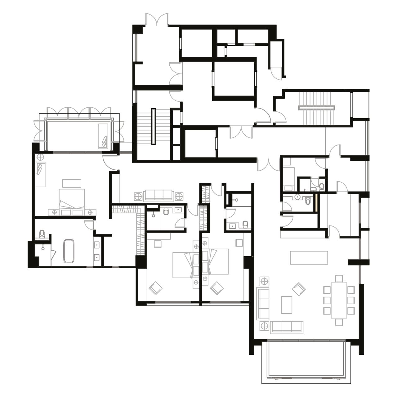 Ampang Condominium Floor Plan A2