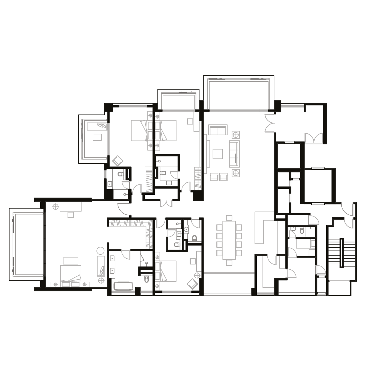 Ampang Condominium Floor Plan B1