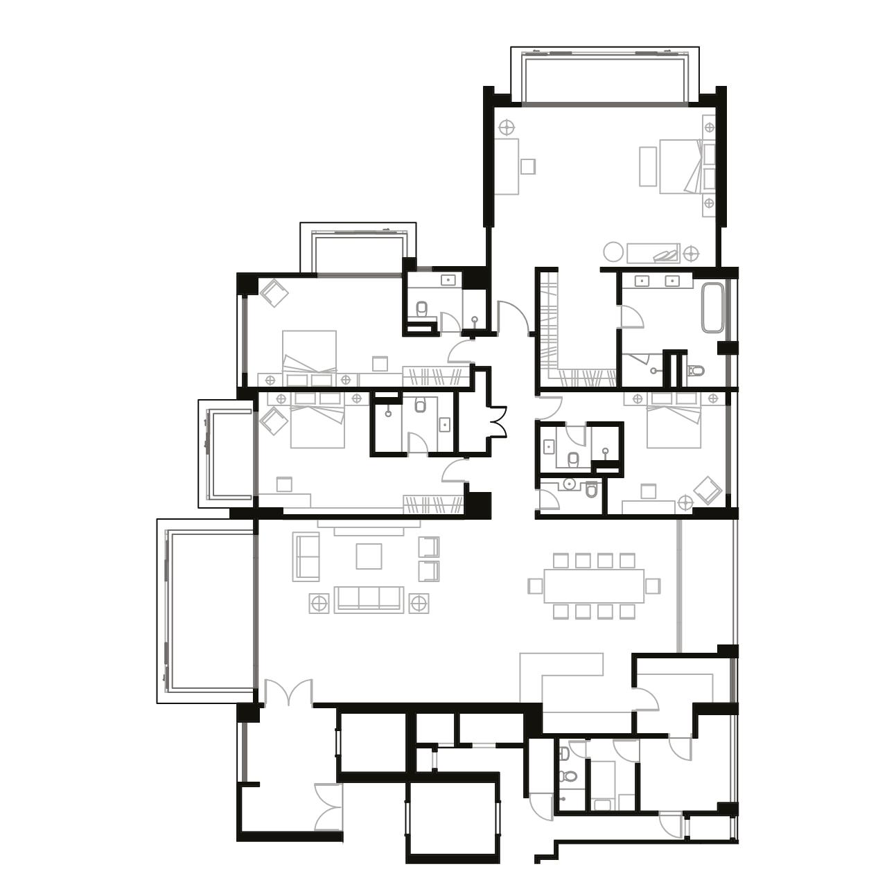 Ampang Condominium Floor Plan B2