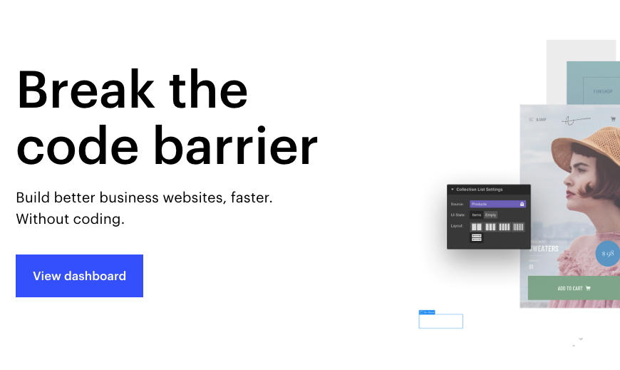 Webflow - A no-code web development platform that I fell in love with