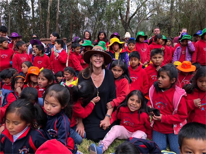 Mamita Helena in Peru