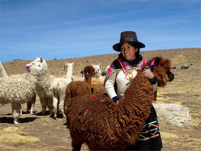 Reis mee naar Peru