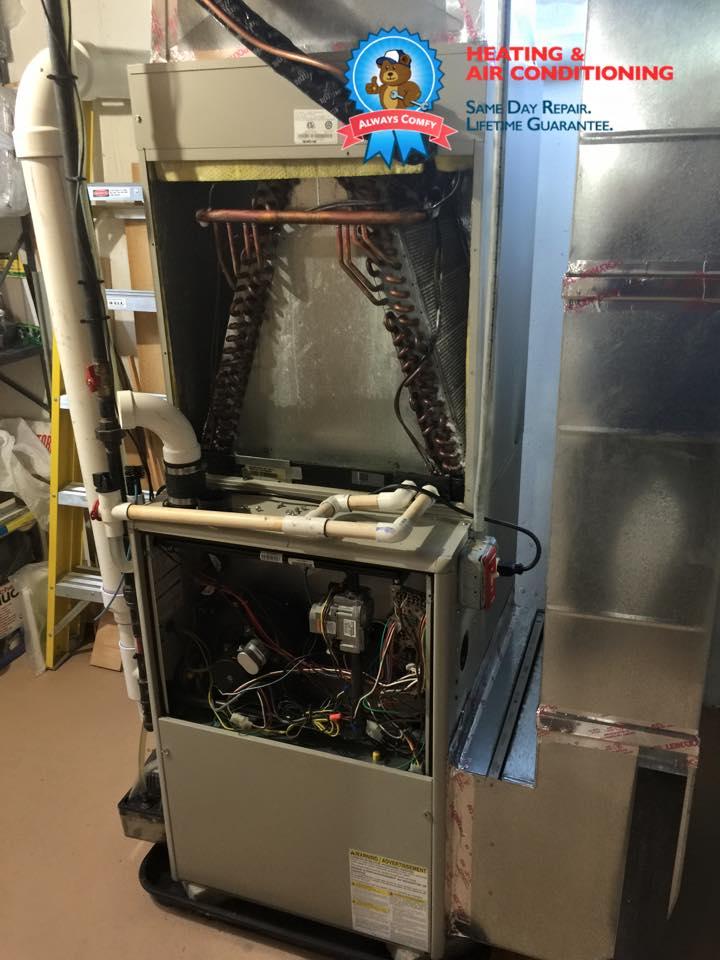 heating repair basking ridge