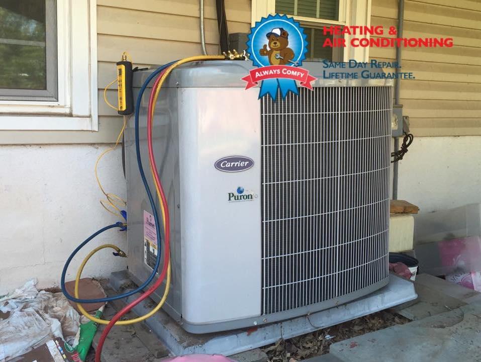 HVAC repair martinsville