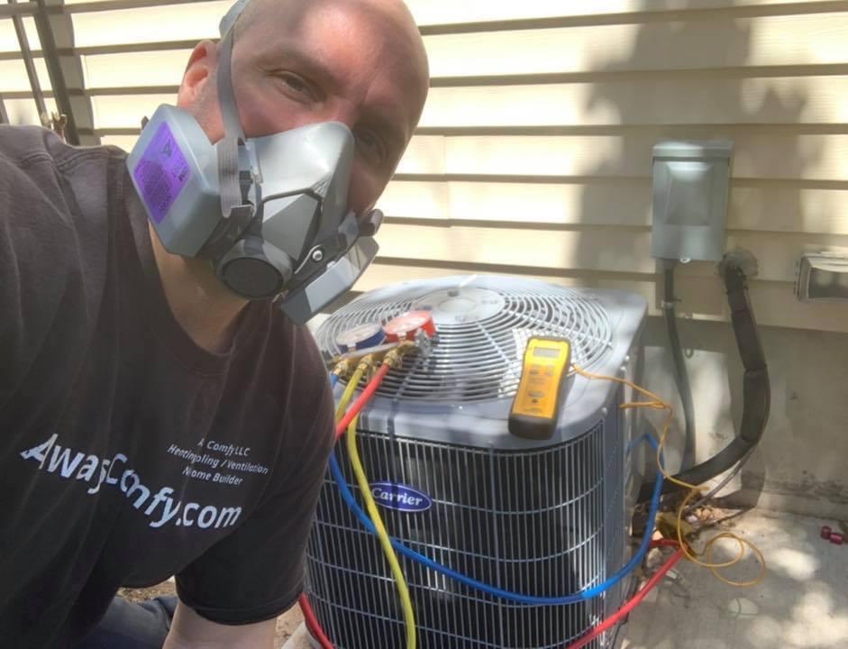air conditioning repair martinsville
