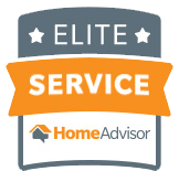 We have been awarded Elite Service by Home Advisor