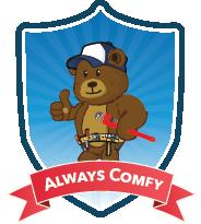 Always Comfy graphic