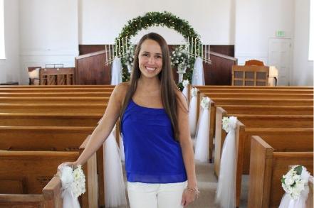 Morgan Thomas - Owner of The Garden Chapel
