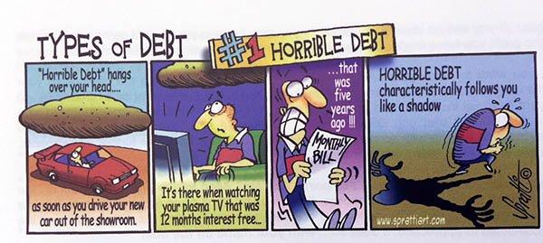 horrible debt
