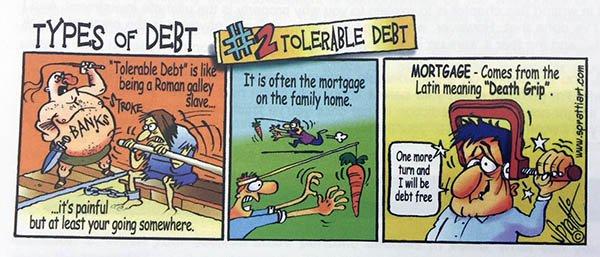 tolerable debt