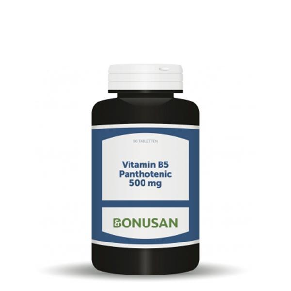 Vitamin B5 Pantothensäure 500 mg, 90 Stk.