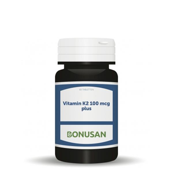 Vitamin K2 - 100 mcg Plus