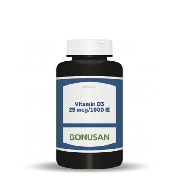 Vitamin D3 - 25 mcg/1000 IE, 300 Stk.