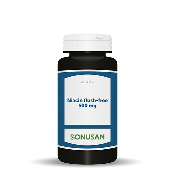 Vitamin B3 Niacin flush-free - 500 mg, 60 Stk.