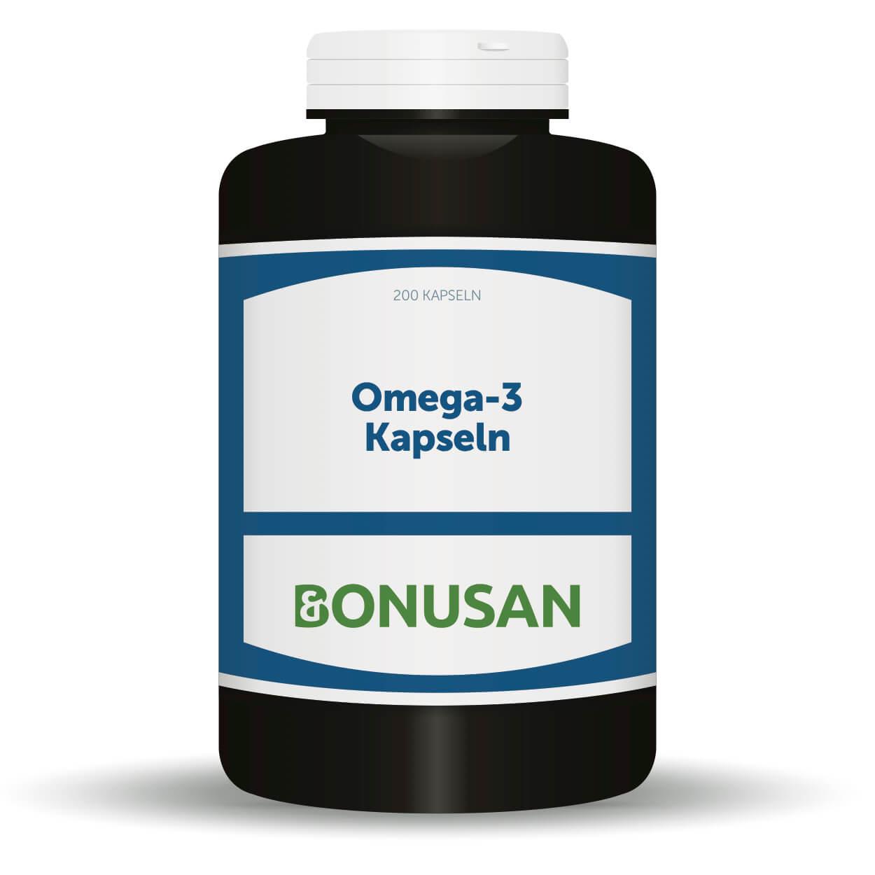 Omega-3 Kapseln Großpackung