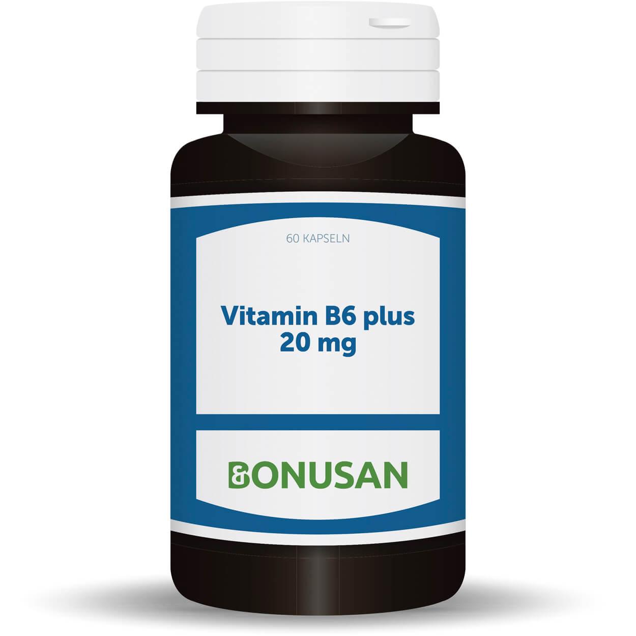 Vitamin B6 Plus 20 mg, 60 Stk.
