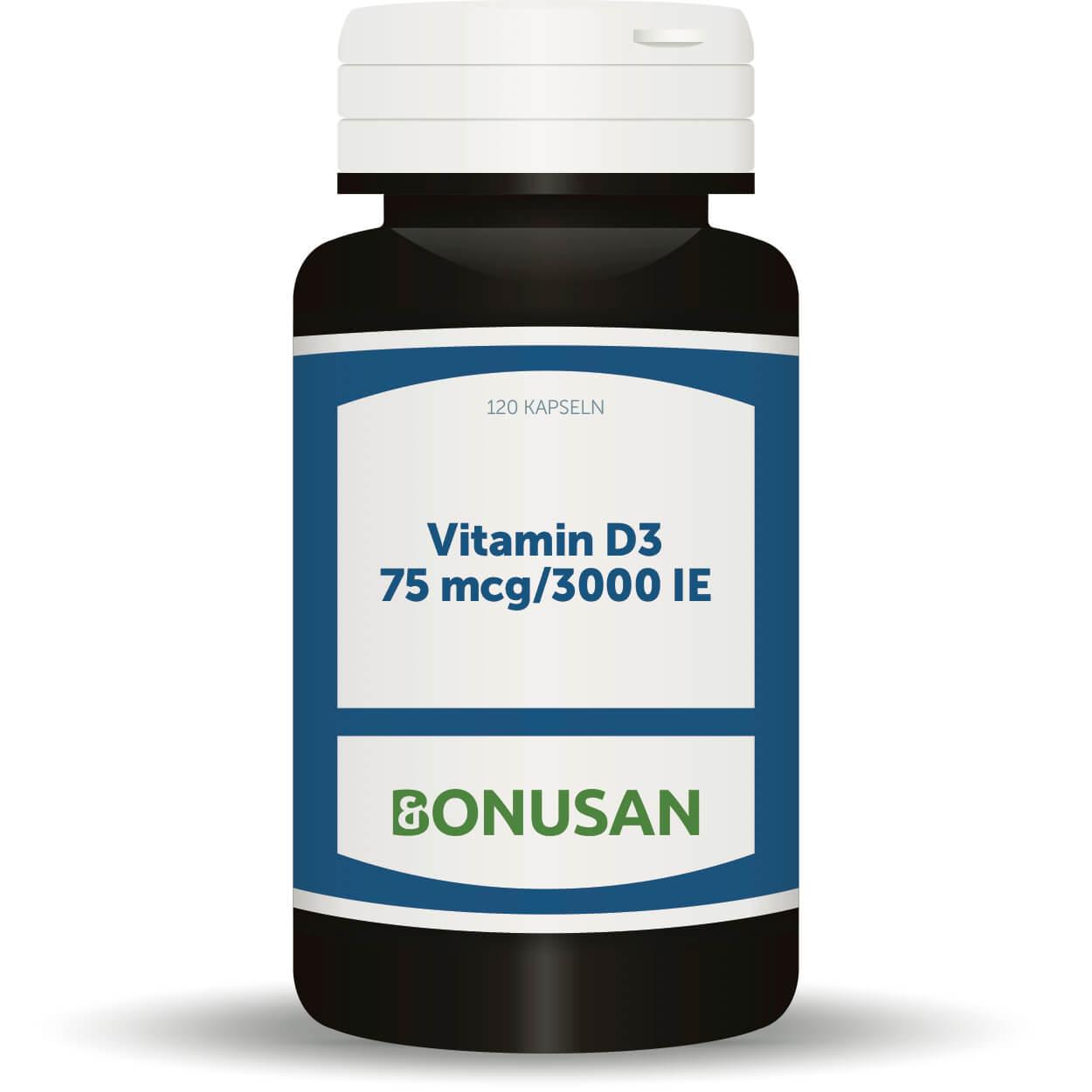 Vitamin D3 - 7.5 mcg/3000 IE, 120 Stk. Softgel Kapseln