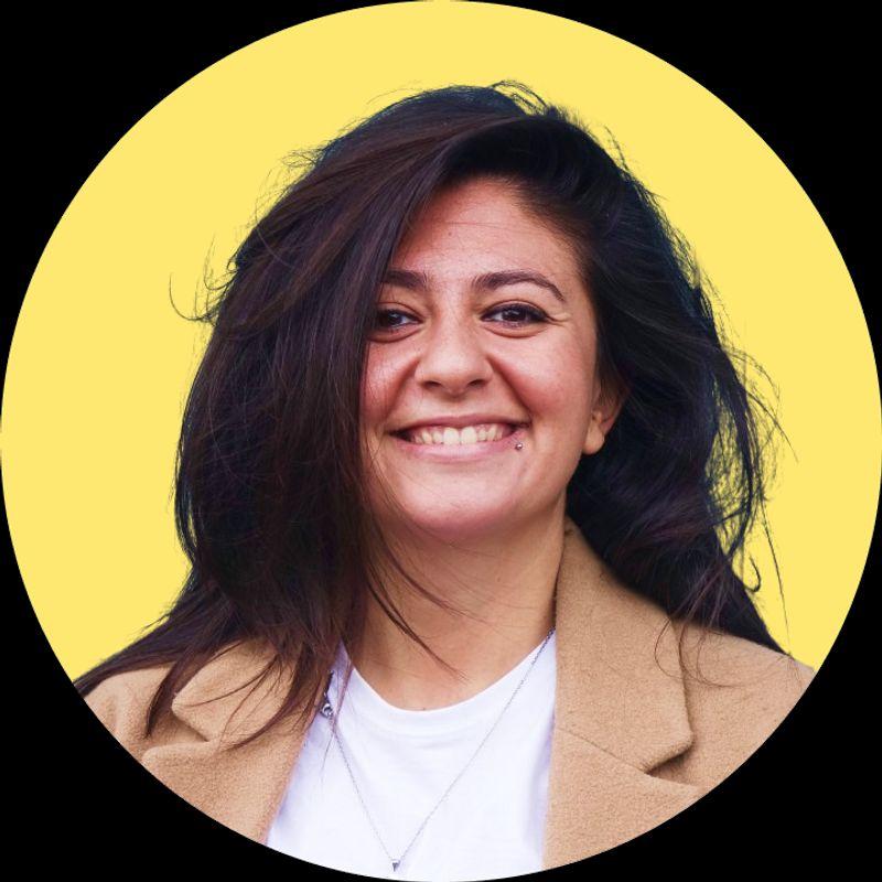 Claudia Cafeo, Webflow Developer.