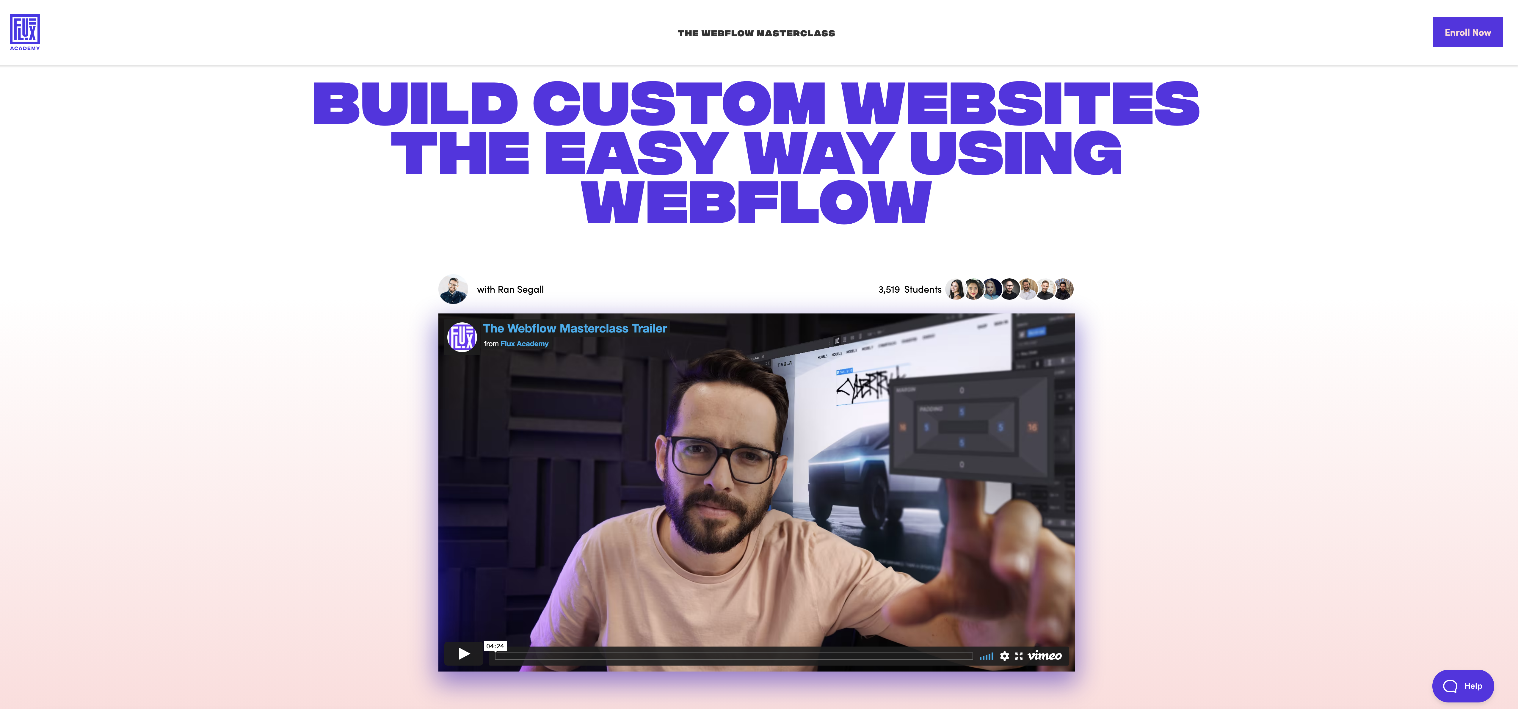 The Webflow Masterclass