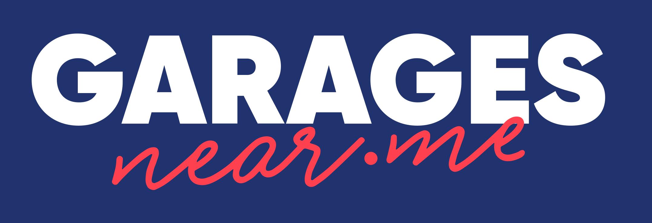GaragesNear.me logo white