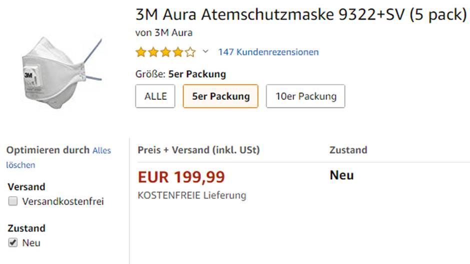 maske mundschutz 3m