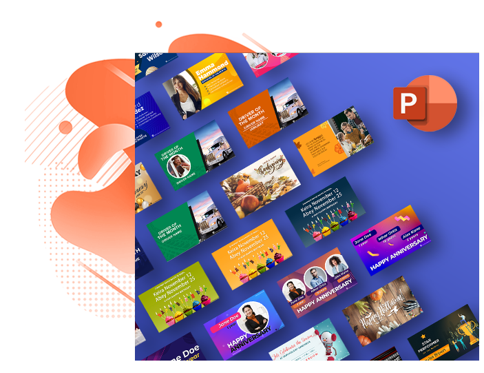 workplace communication powerPoint template