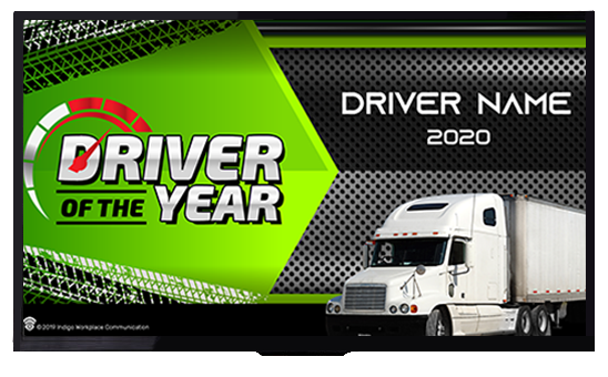 Driver of the year - Indigo Workplace Communication