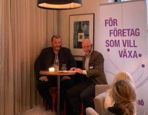 Dan Magnusson är VD för familjeföretaget Byggnadsfirman Otto Magnusson AB