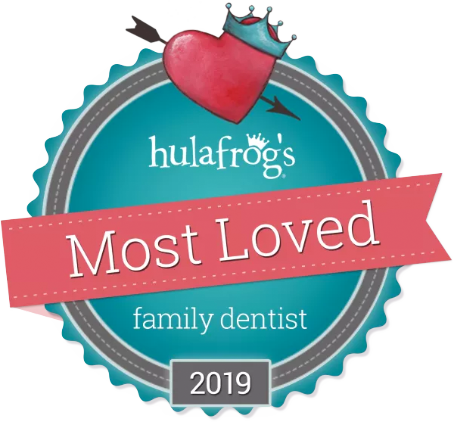 Voted Hulafrog's Most Loved Family Dentist 2019