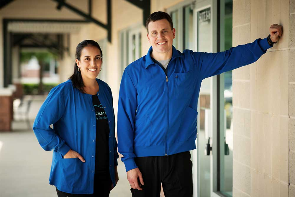 Photo of Dr. Shaina Holman and Dr. Colin Pedersen