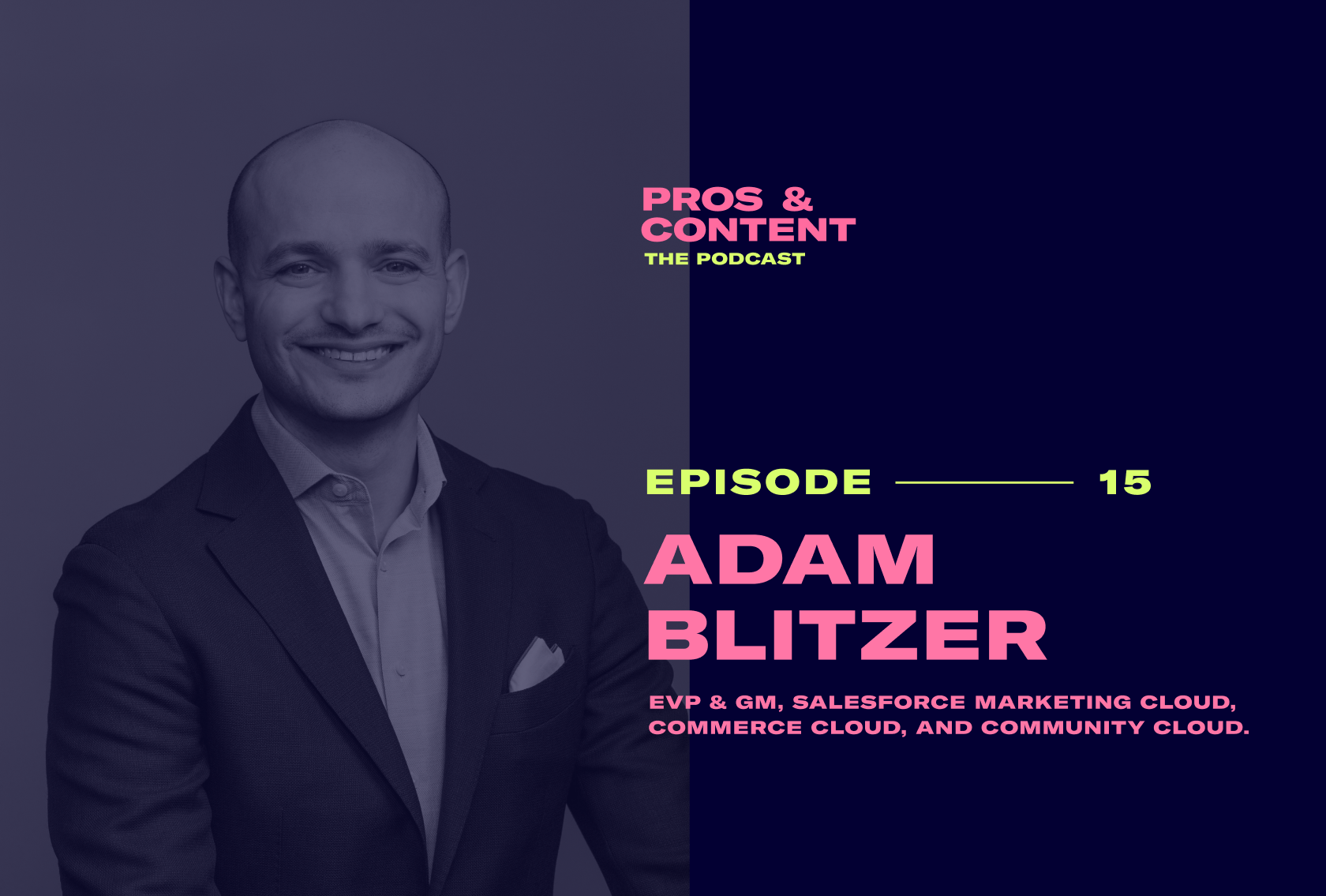 Pros & Content Podcast: Adam Blitzer