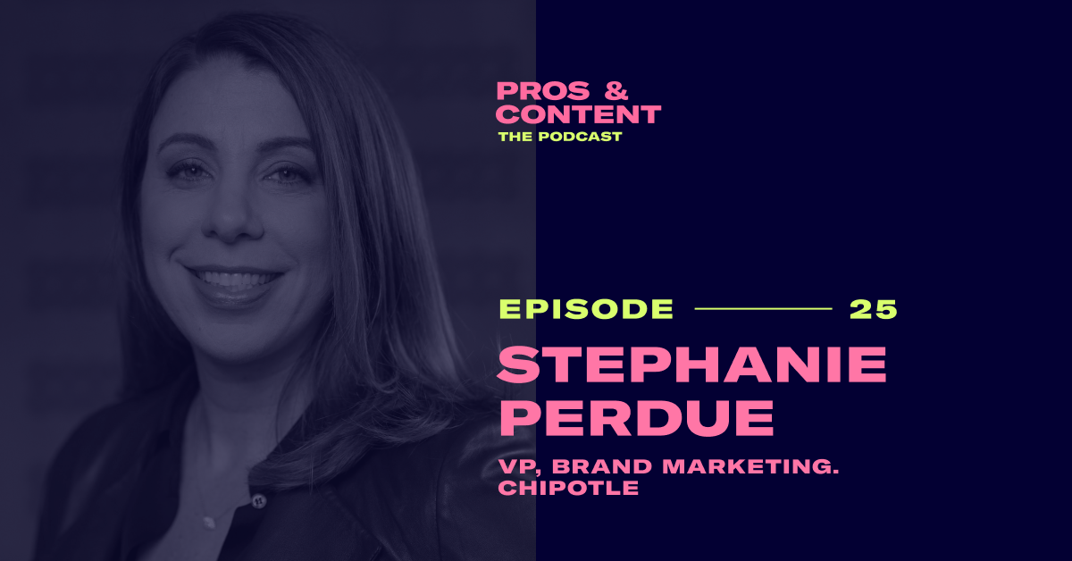 Pros & Content Podcast: Stephanie Perdue