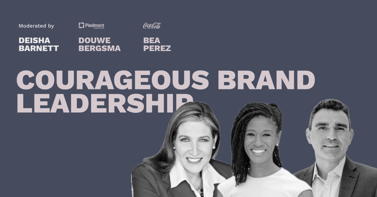 Courageous Brand Leadership - Pros and Content Connect 2020
