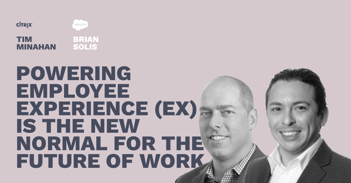 Powering the Employee Experience - Pros and Content Connect 2020