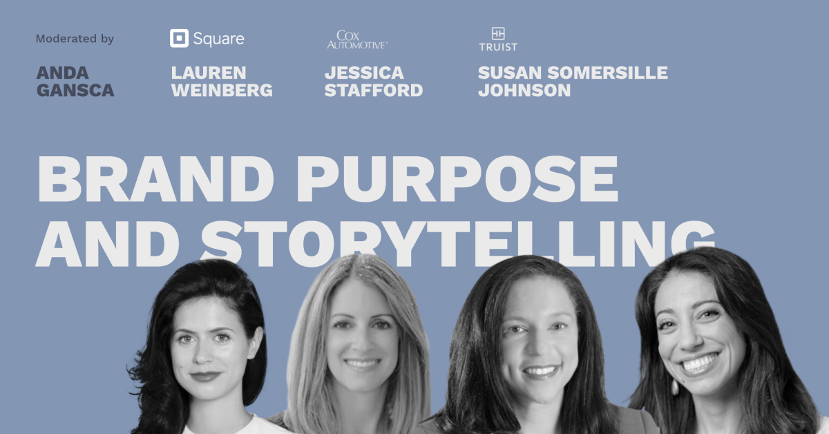 Brand Purpose and Storytelling - Pros and Content Connect 2020