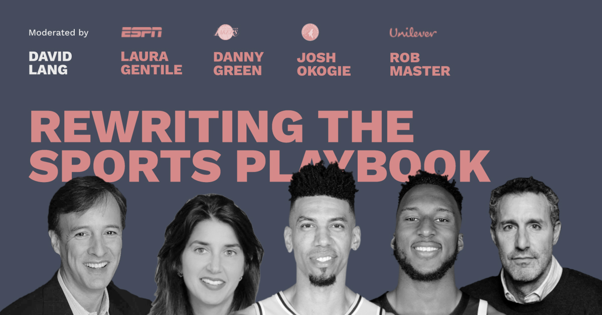 Rewriting the Sports Playbook - Pros and Content Connect 2020