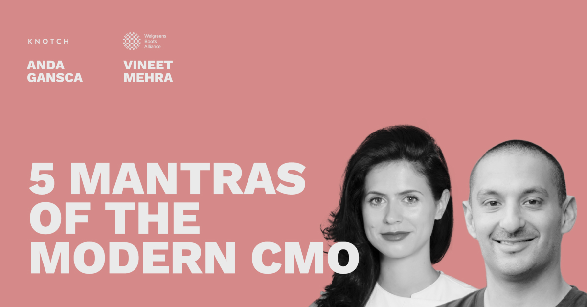5 Mantras of the Modern CMO - Pros and Content Connect 2020