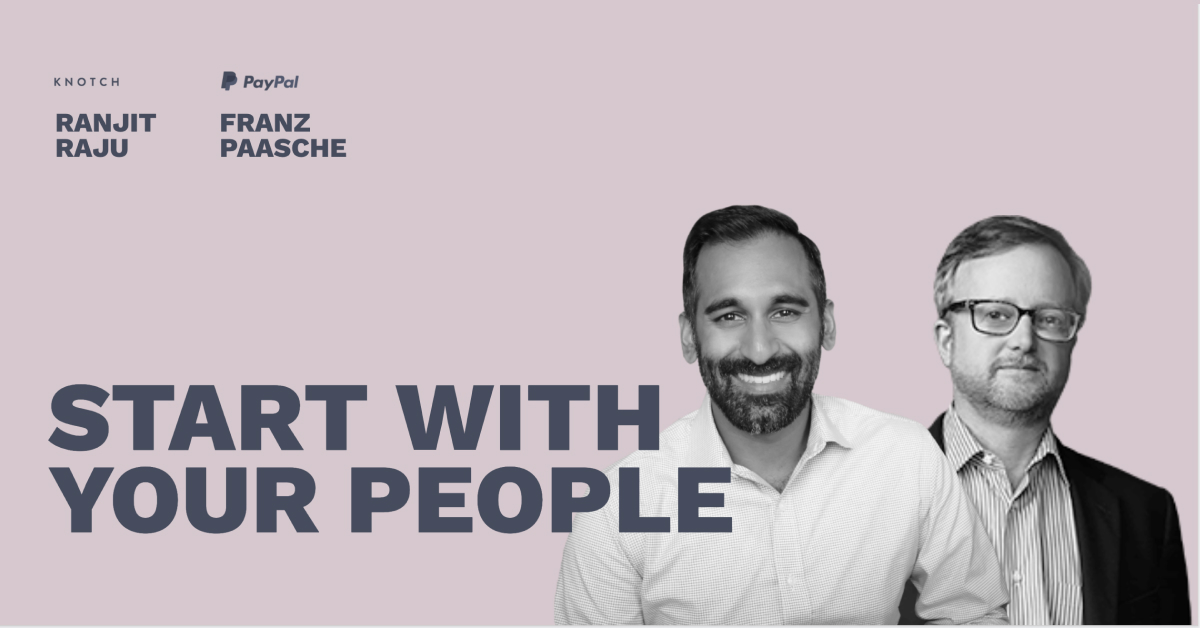 Start with Your People - Pros and Content Connect 2020