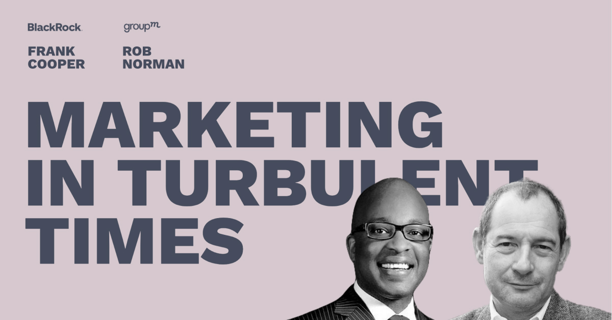 Marketing in Turbulent Times - Pros and Content Connect 2020