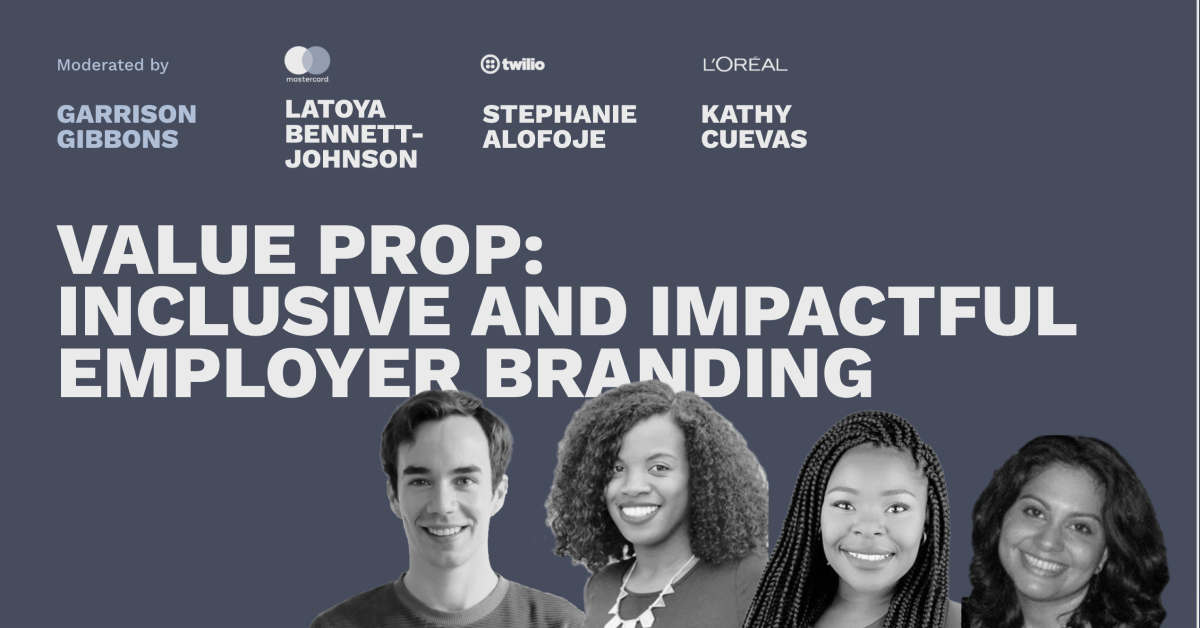 Inclusive and Impactful Employer Branding - Pros and Content Connect 2020