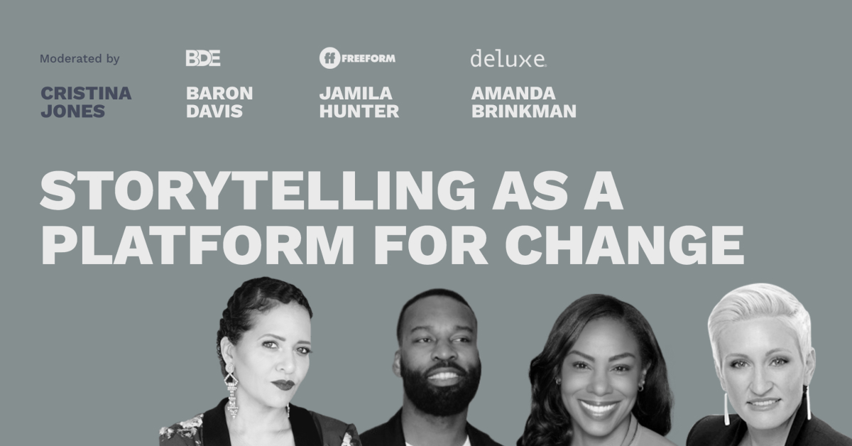 Storytelling as a Platform for Change - Pros and Content Connect 2020