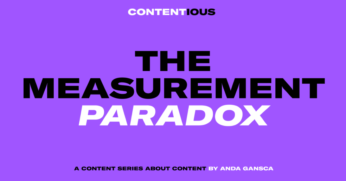 The Measurement Paradox